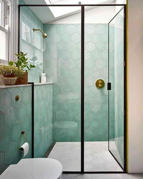 Hexagonal Tiles - Image from LivForInteriors