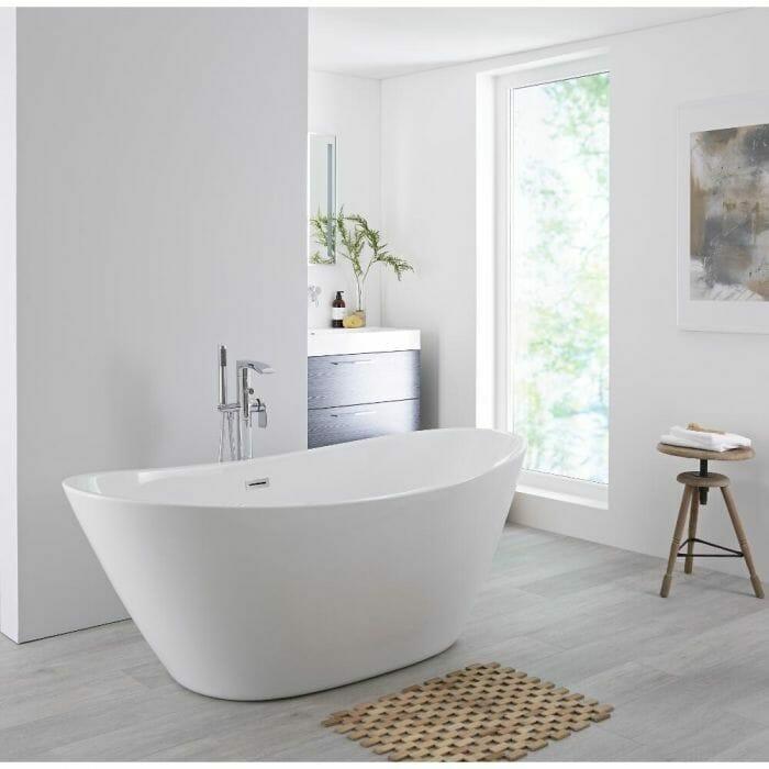 Milano Irwell freestanding bath
